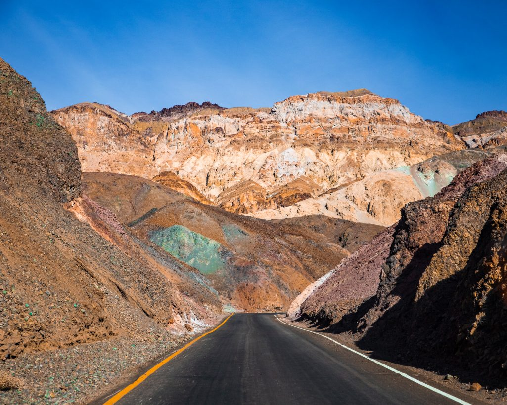 One Day in Death Valley Itinerary Road