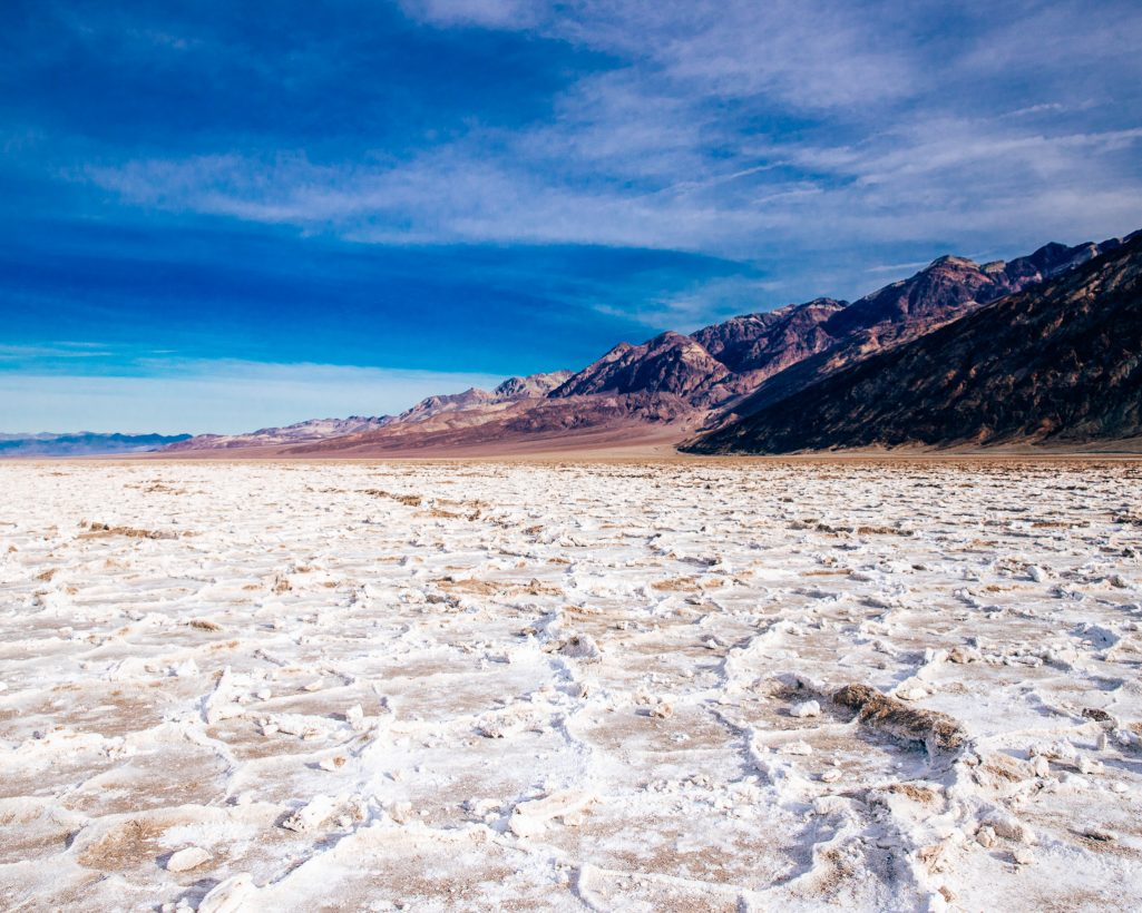 One Day in Death Valley Itinerary Badwater Basin