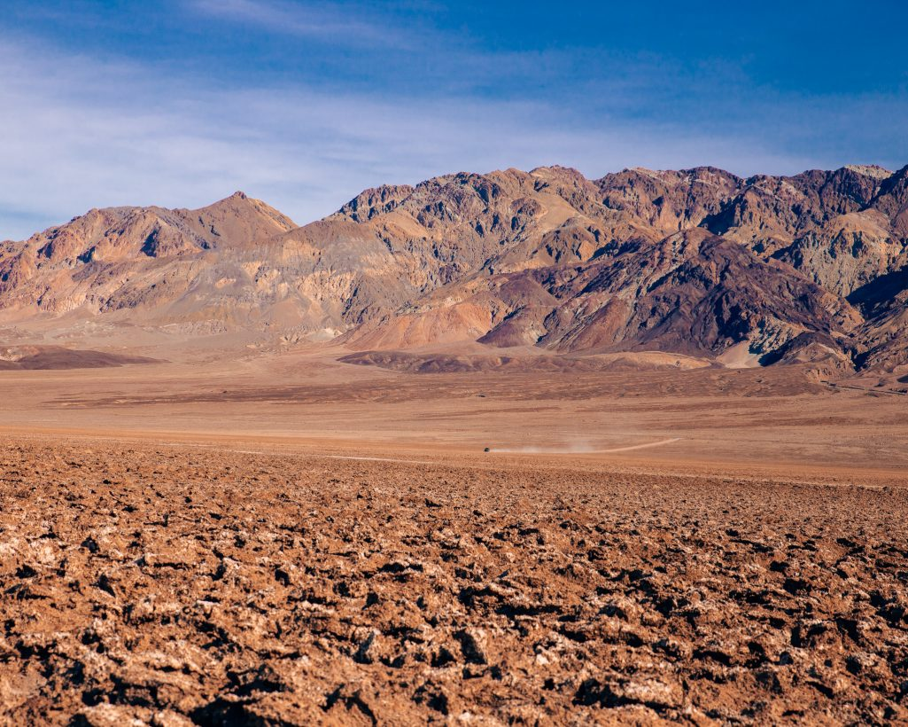 One Day in Death Valley Itinerary Devils Golf Course