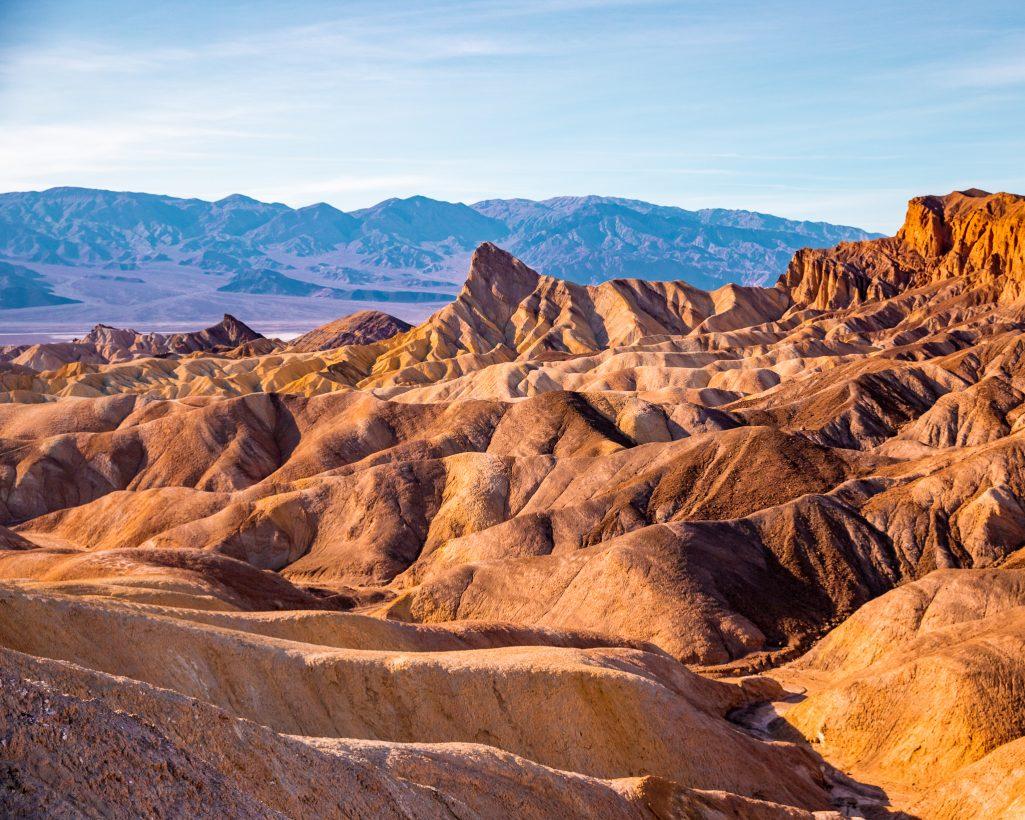 One Day in Death Valley Itinerary Zabriskie Point