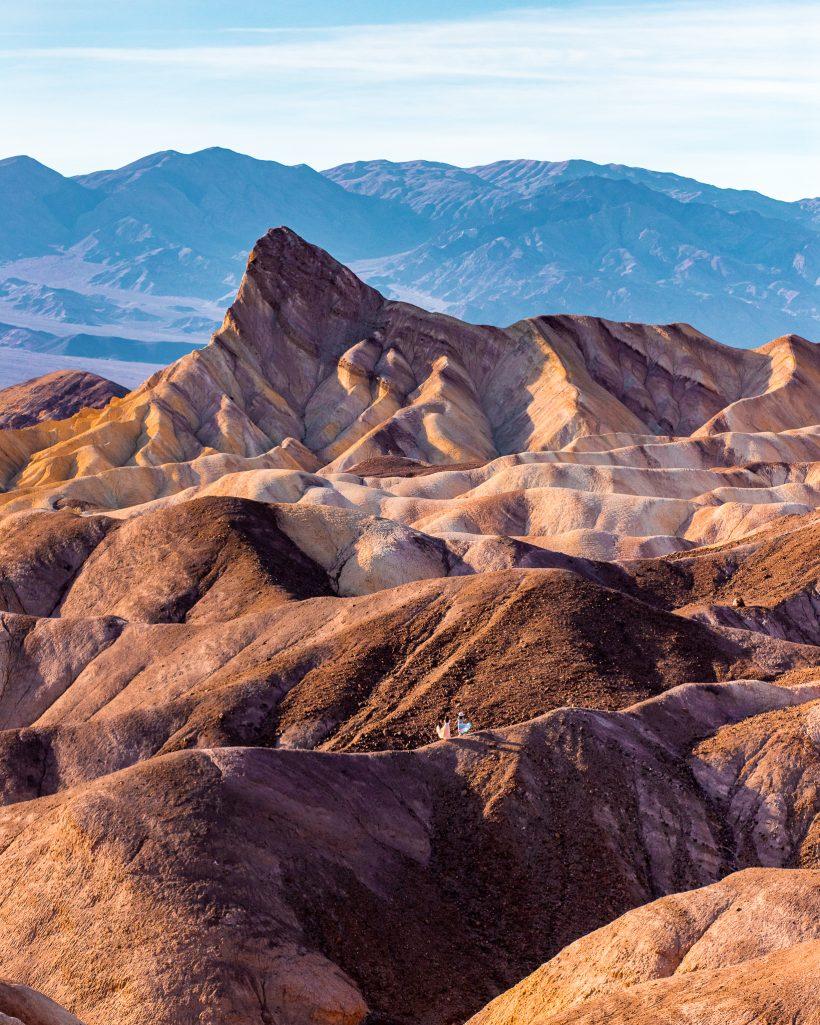 One Day in Death Valley Itinerary Zabriskie Point View