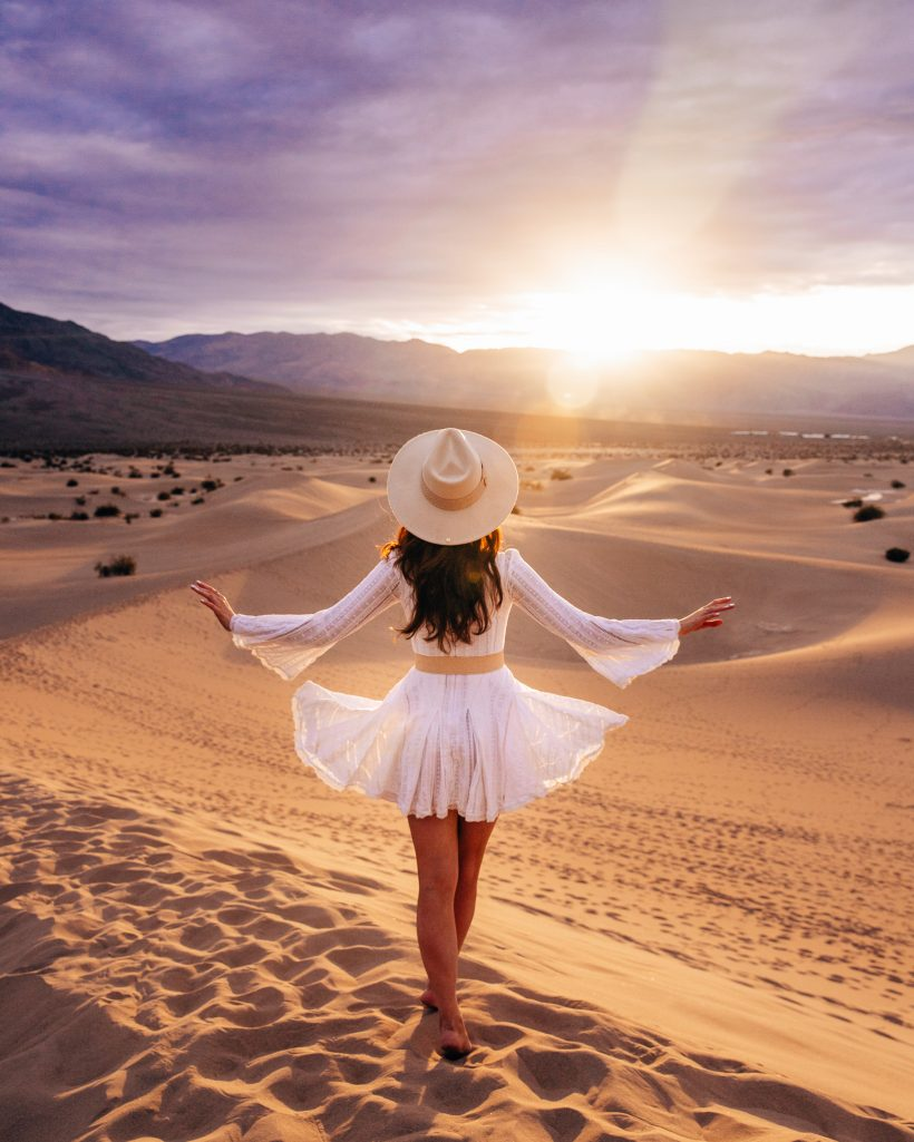 One Day in Death Valley Itinerary Sand Dunes