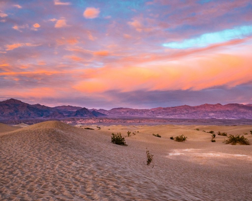 One Day in Death Valley Itinerary Sunset