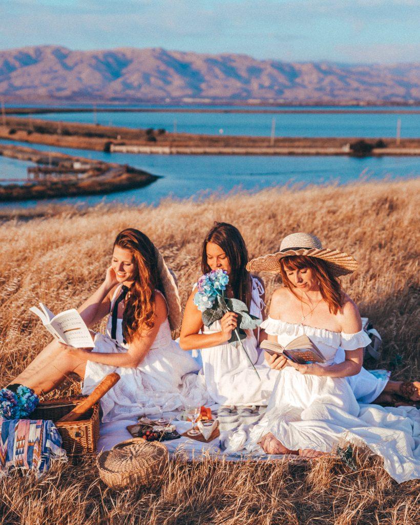 Girls Picnic in San Francisco California