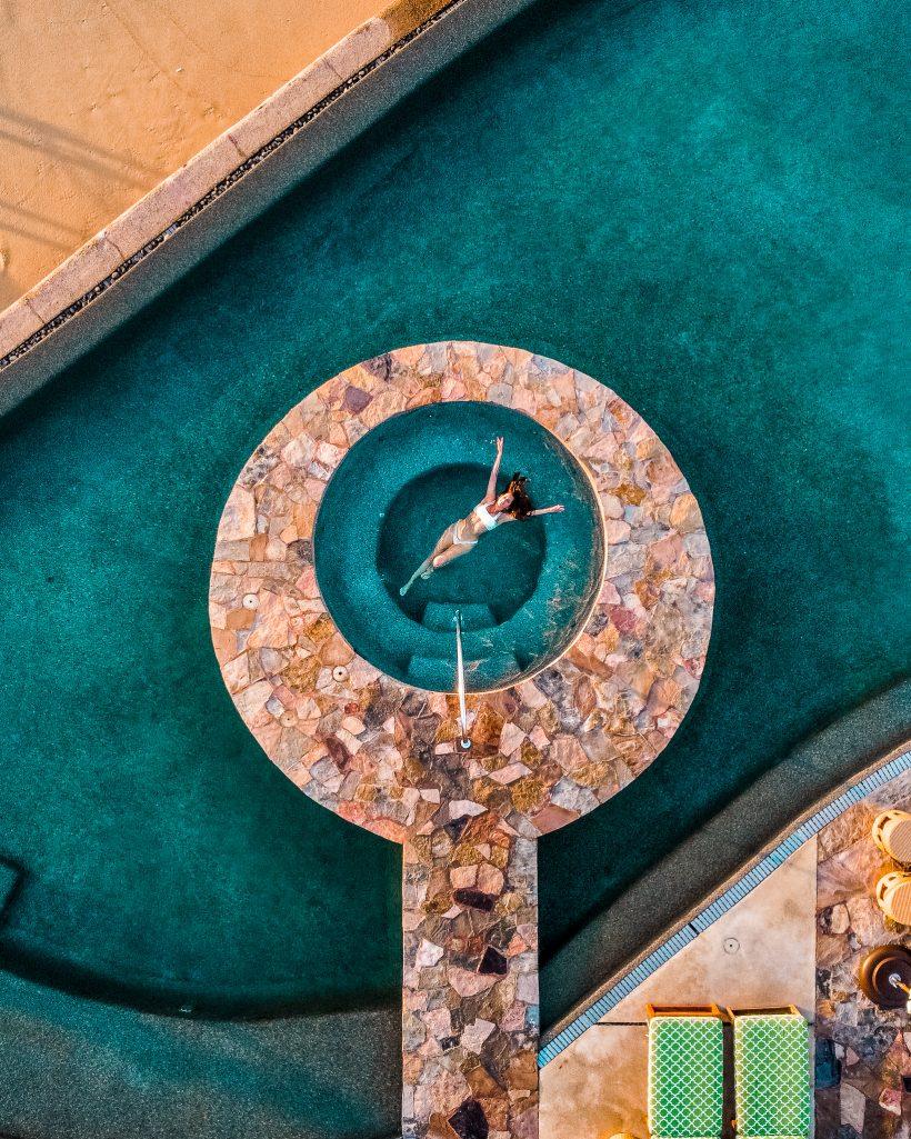 Luxury Cabo Resort Hot Tub Pool
