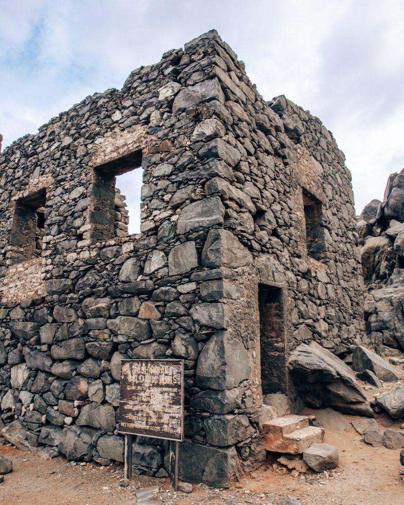 Unique Things to do Aruba Bushiribana Ruins