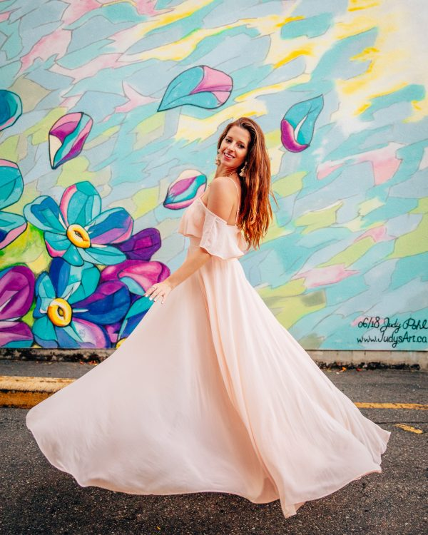 Morning Lavender Adele Ruffle Maxi Dress 2