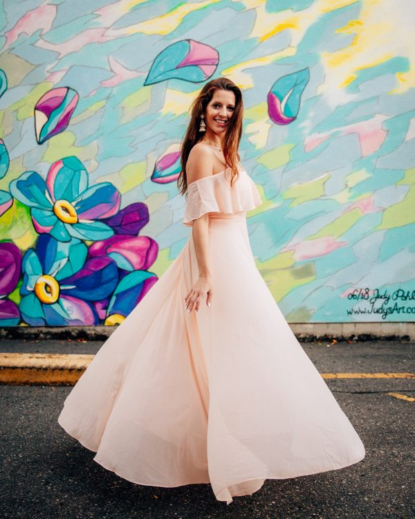 Morning Lavender Adele Ruffle Maxi Dress 4