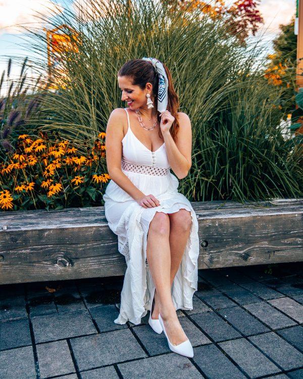 Jack by BB Dakota White Maxi Dress 1