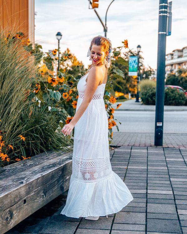 Jack by BB Dakota White Maxi Dress 2
