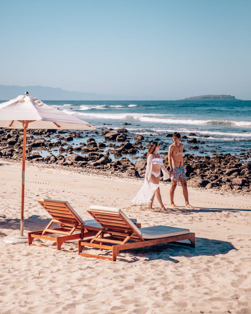 St. Regis Punta Mita Beach Walk