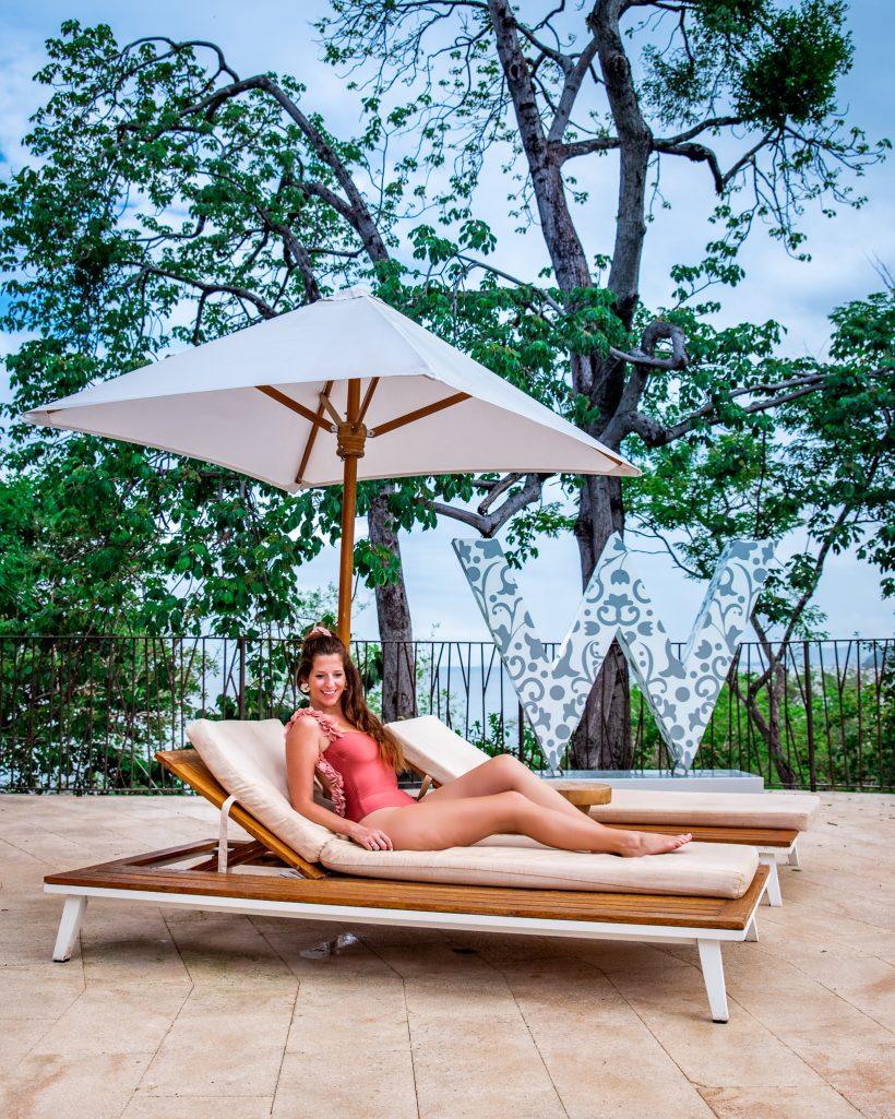 W Costa Rica Pool Lounge