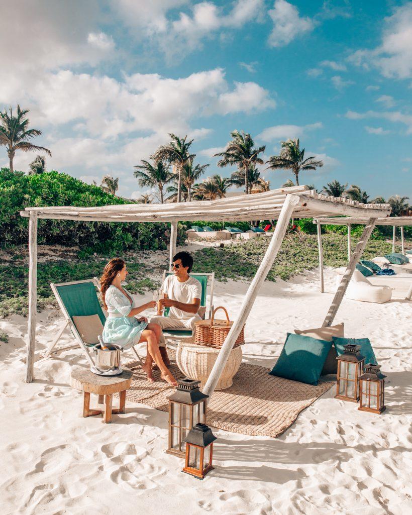 Andaz Mayakoba Beach Wine