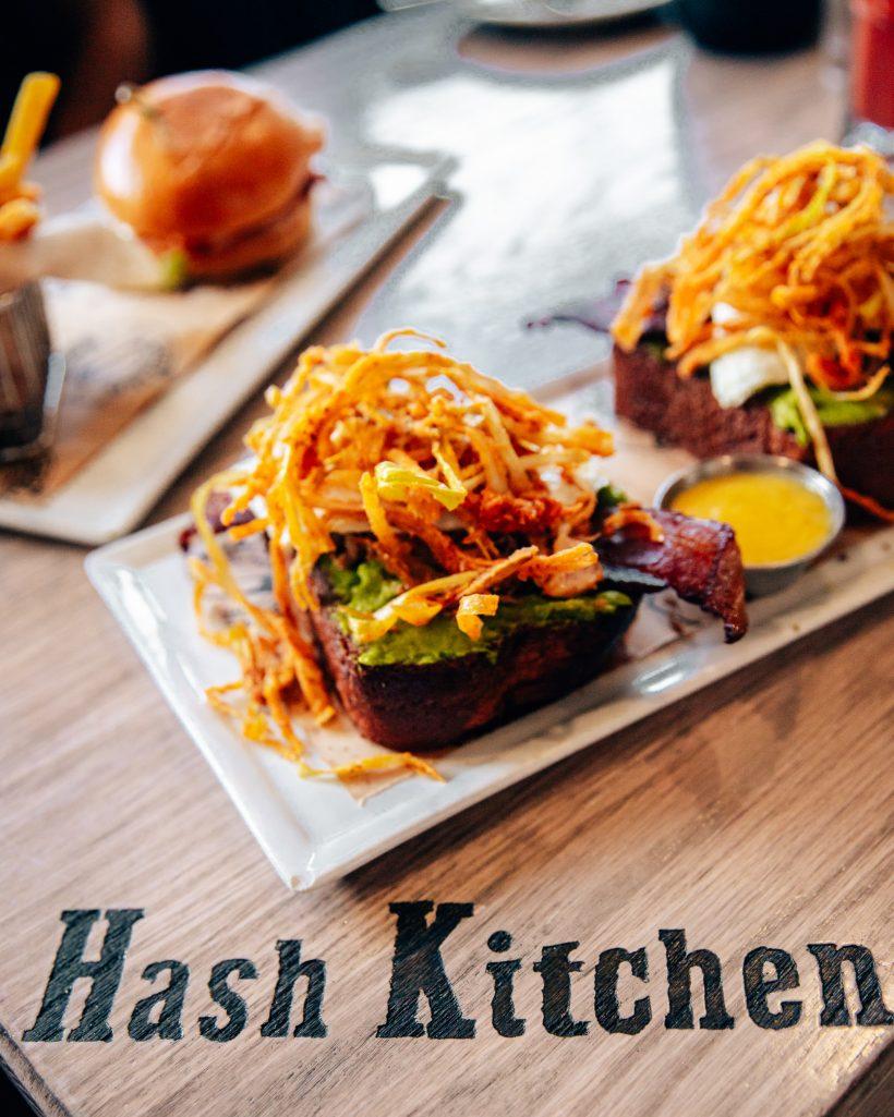 Hash Kitchen Avocado Toast