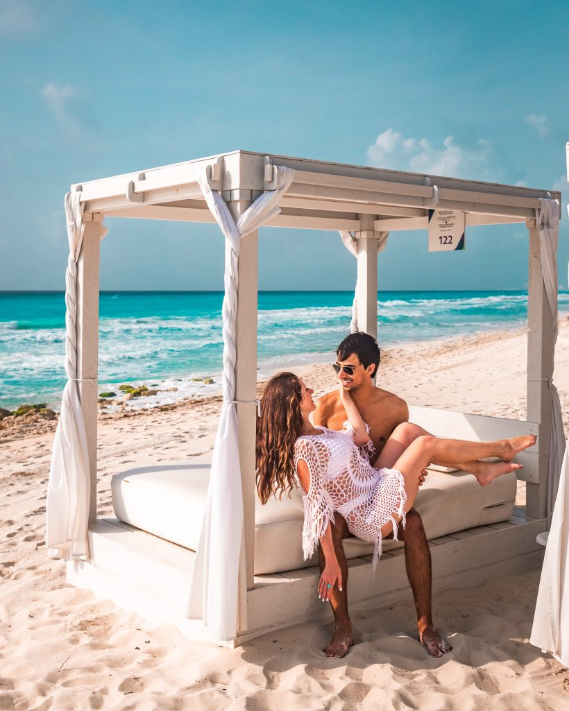 Hyatt Zilara Cancun Resort Beach Cabana