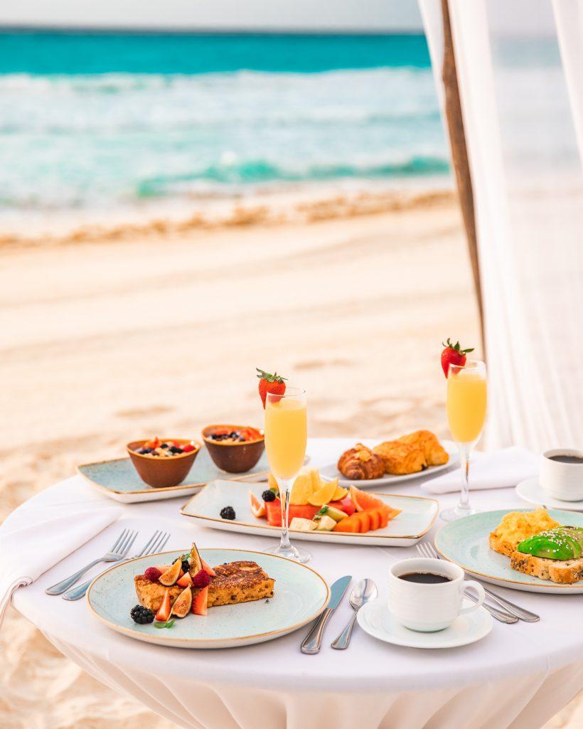 Hyatt Zilara Cancun Resort Beach Breakfast