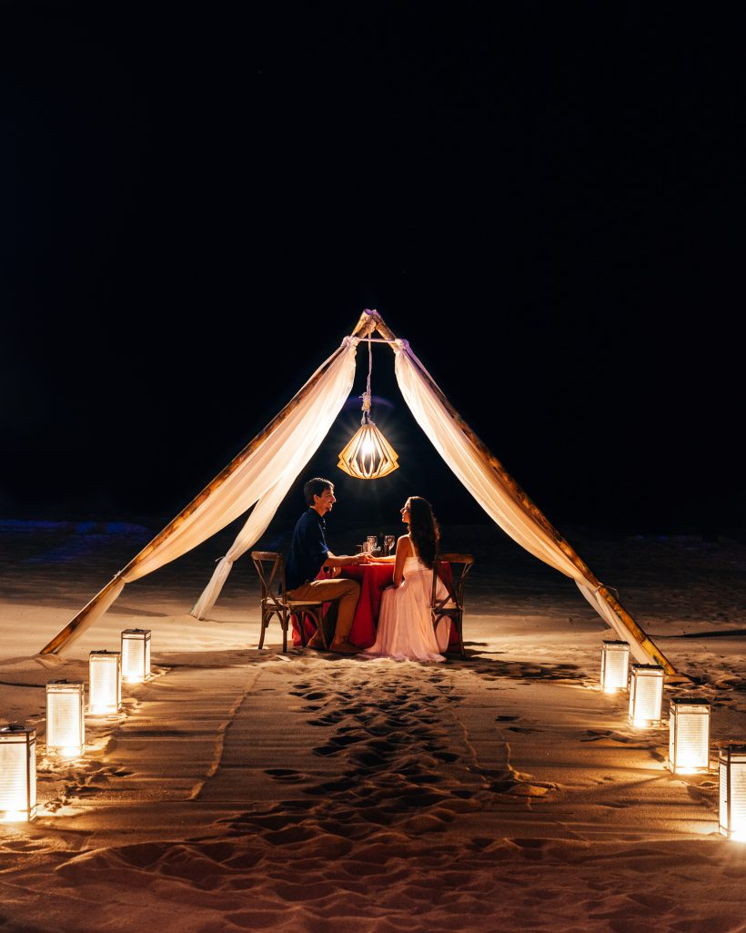 Hyatt Ziva Los Cabos Resort Romantic Dinner