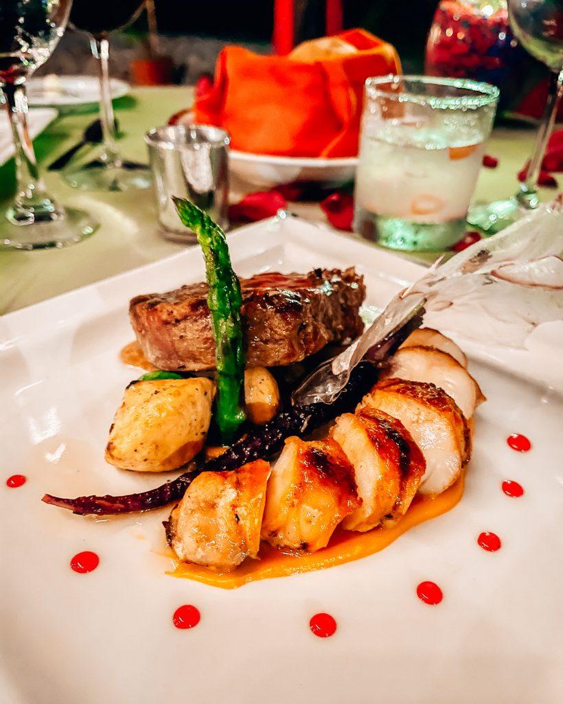 Hyatt ZIva Puerto Vallarta Dinner