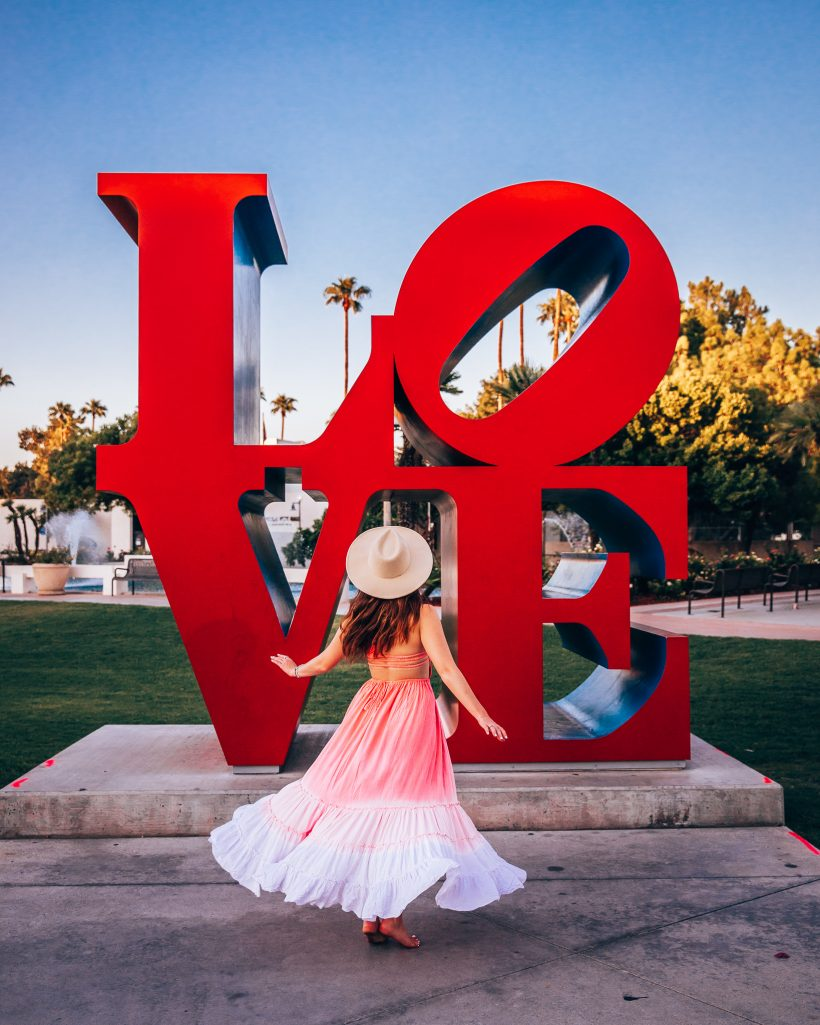 Love Sculpture Scottsdale