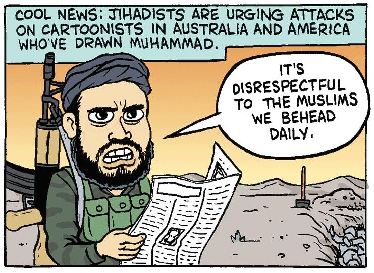 Satire Strike The Nib