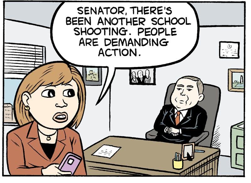 Shooting Down Gun Control The Nib
