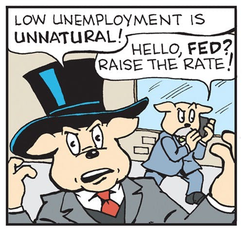 Unemployment Isn T A Bug It S A Feature The Nib