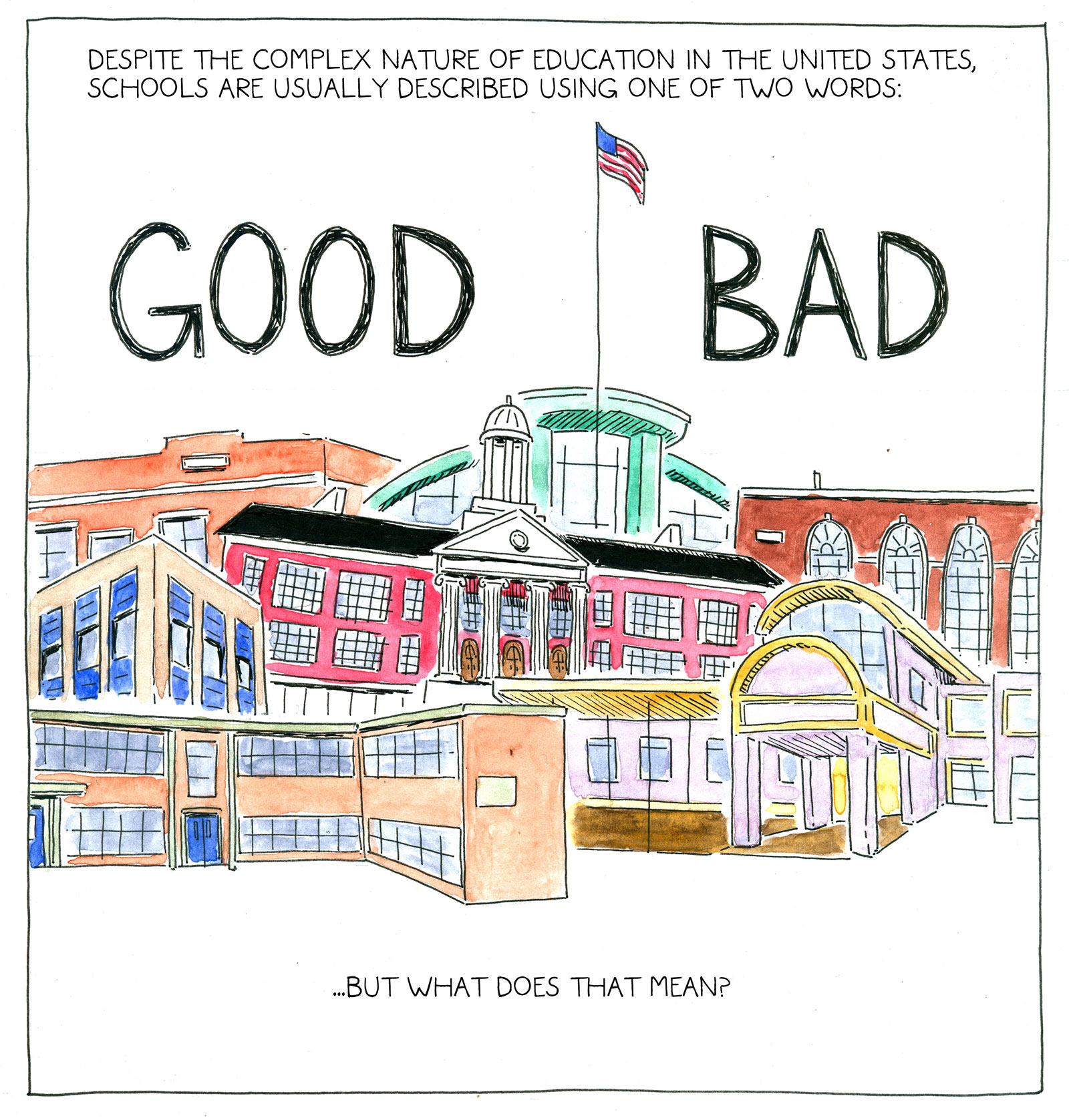 good school bad school