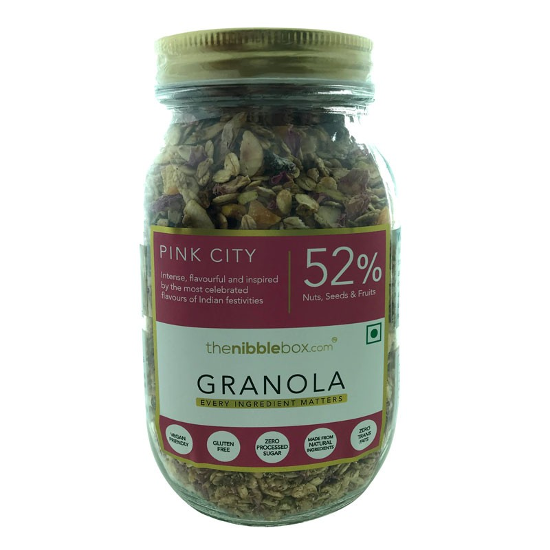 TheNibbleBox Pink City Jar
