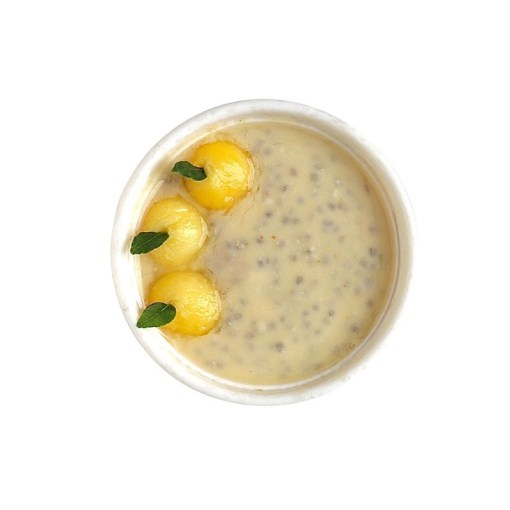 TheNibbleBox Chia Seed Pudding Lemon Curd