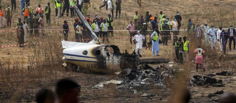 7 Killed as Air Force Jet Crashes in FCT Abuja