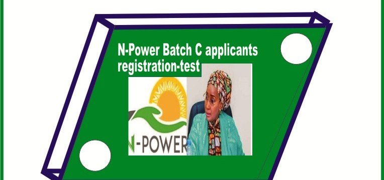 N-Power Batch C applicants registration