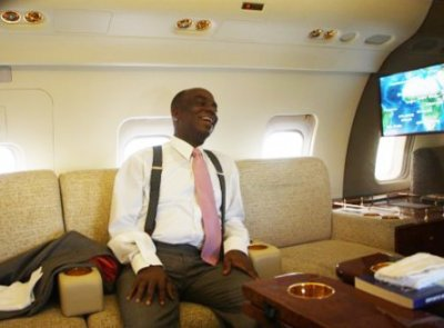 bishop david oyedepo private jet