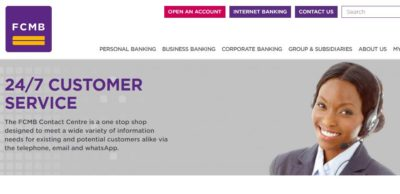 FCMB Customer Care - Picture