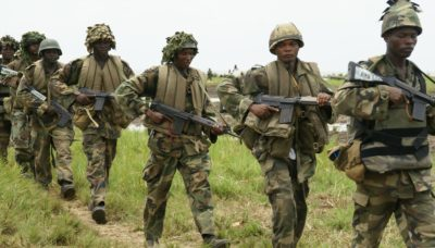 ranks in the Nigerian army