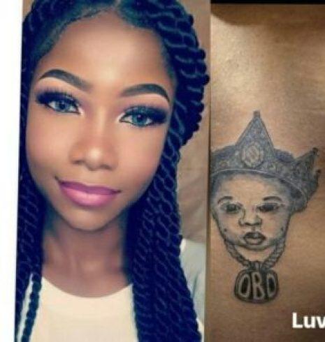 Tacha tattoo DMW
