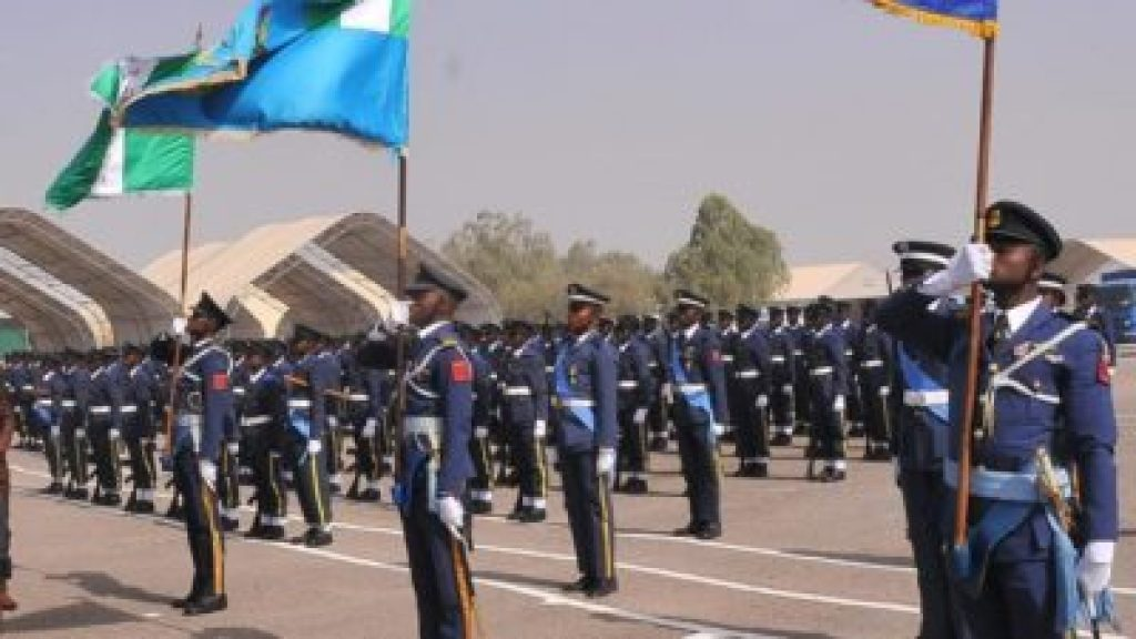 ranks in the Nigerian air Force and their salary