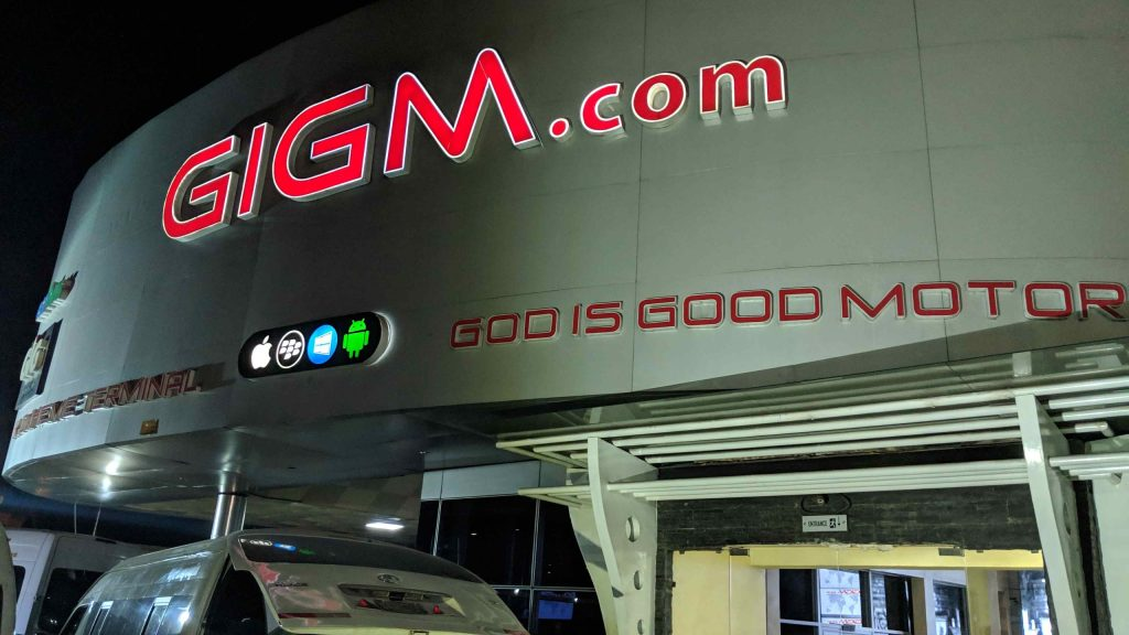 GIGM - One of the best transport companies in Nigeria