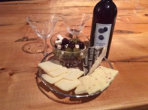 Nightfall Inn Wine and Cheese special package