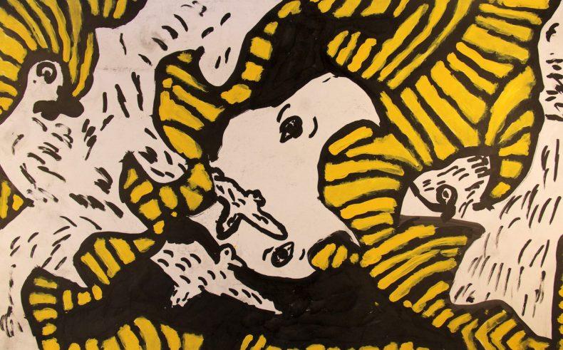 Scott Berry 1 acrylic on paper