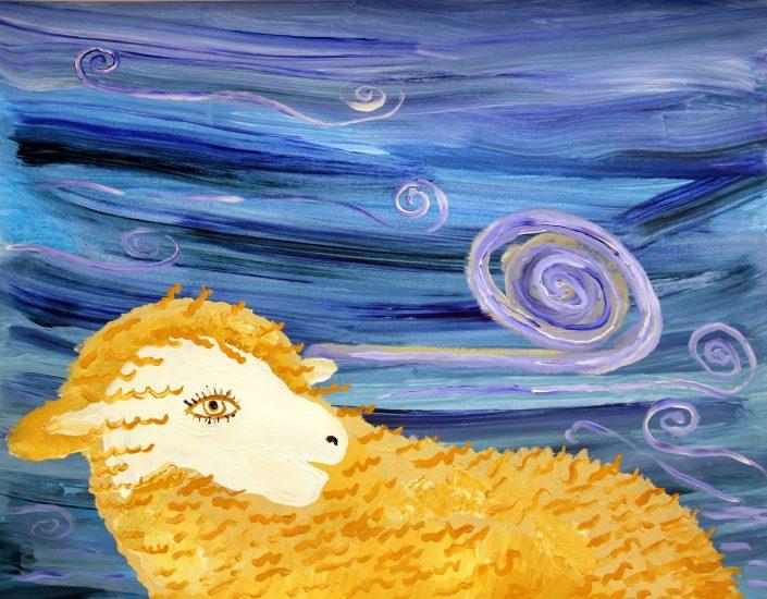 angela trudel starry sheep