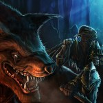 lord of the rings warg rider goblin orc fan art fantasy art
