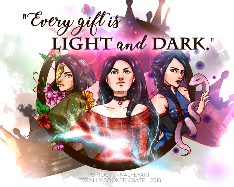 Three Queens | Three Dark Crowns