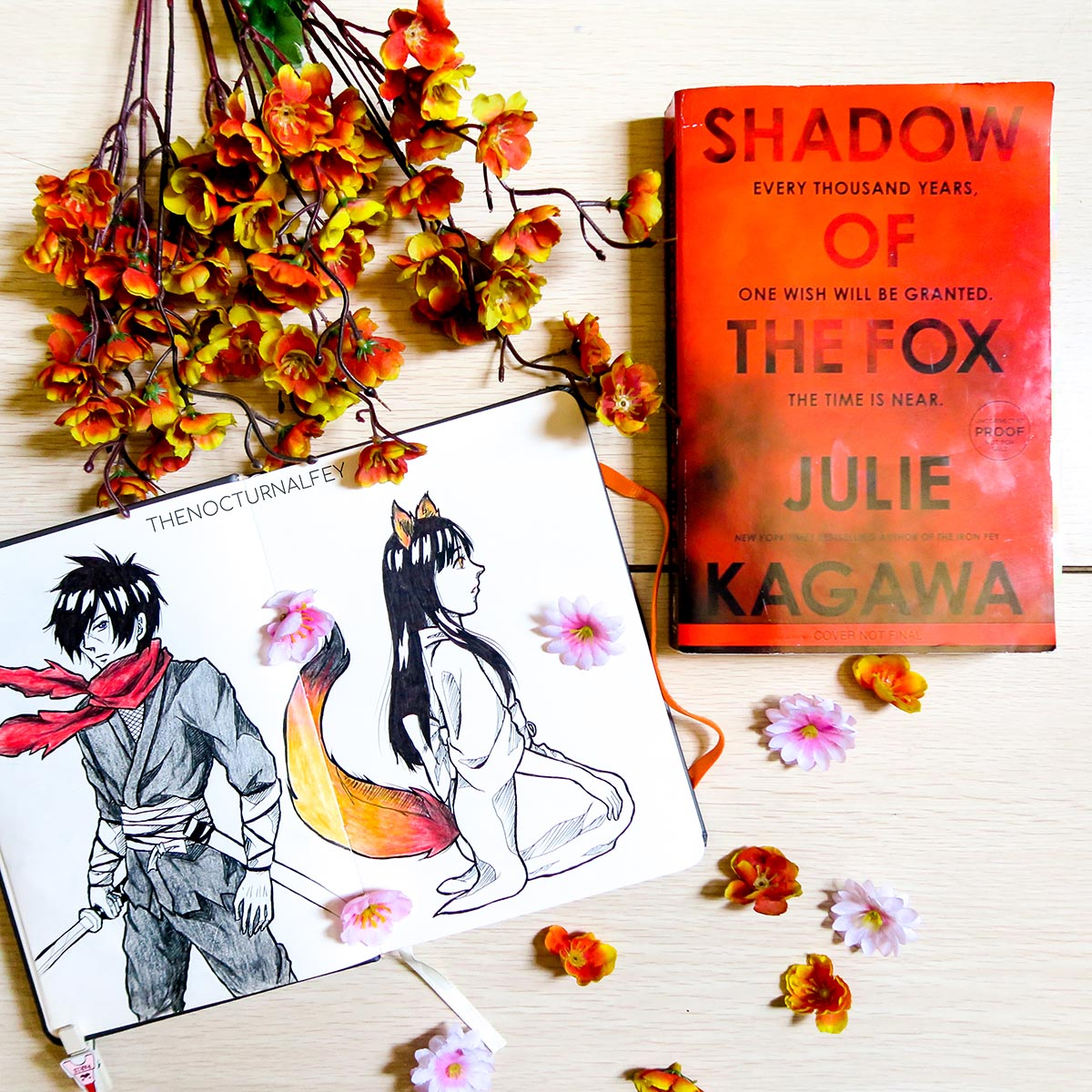 shadow of the fox the nocturnal fey julie kagawa