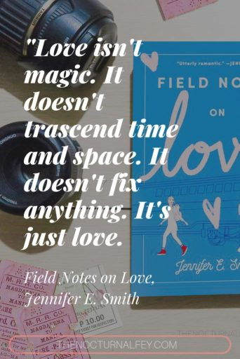 Field Notes on Love quote