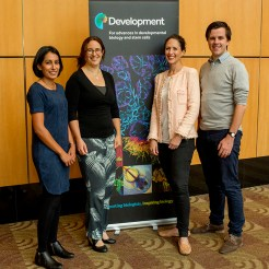 The Development team, Seema Grewal (Reviews Editor), Katherine Brown (Executive Editor), Caroline Hendry (Reviews Editor) and Aidan Maartens (Community Manager, the Node)
