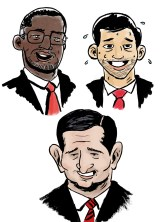 Cruz, Carson and Rubio