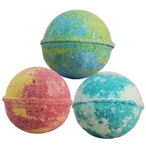 CBD Bathbomb trio