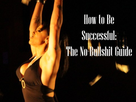 The no-bullshit guide to becoming a successful writer, blogger, YouTuber, creator, or you.