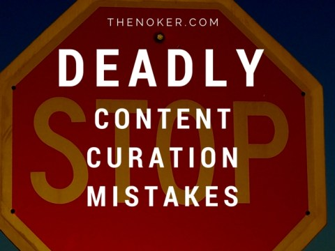 Stop chasing away your social media audience and alienating your fans! This article covers four of the worst content curation mistakes your business is making.