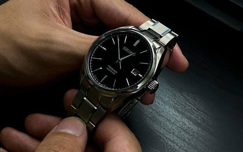 SARX057 on a titanium bracelet